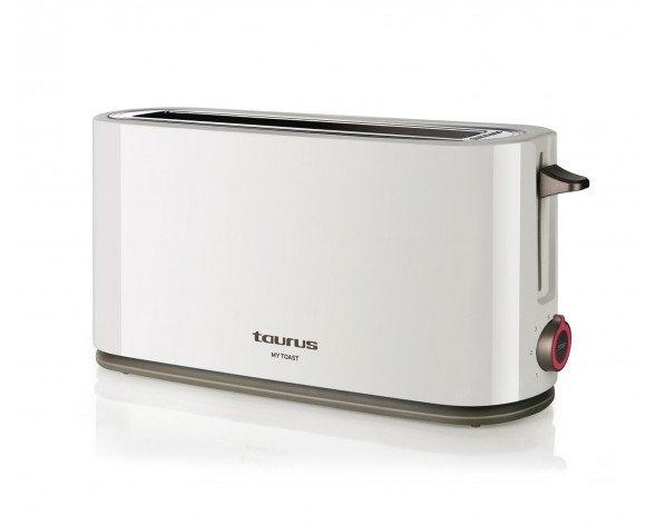 Taurus 960647000 tostadora 1 rebanada(s) Blanco 1000 W