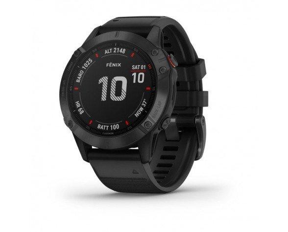 """Garmin fēnix 6 Pro reloj inteligente 3,3 cm (1.3"""") Negro GPS (satélite)"""