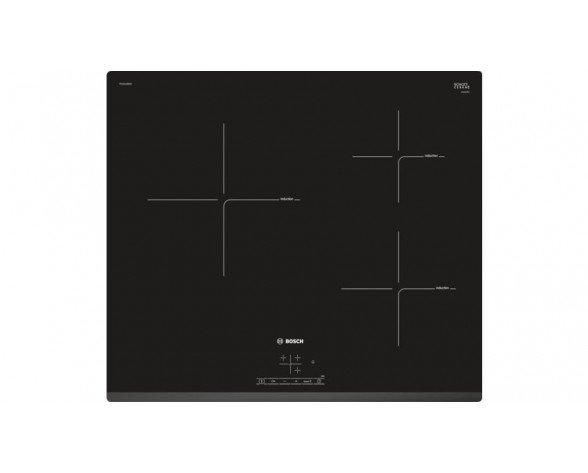 Bosch Serie 4 PUC631BB2E hobs Negro Integrado 60 cm Con placa de inducción 3 zona(s)