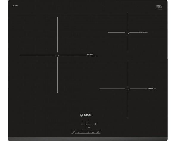 Bosch Serie 4 PUJ631BB2E hobs Negro Integrado Con placa de inducción 3 zona(s)