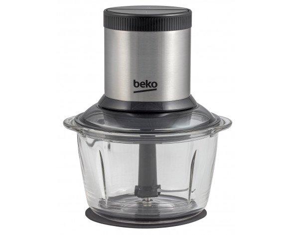 Beko CHG7402X picadora eléctrica de alimentos 1 L Negro, Acero inoxidable, Transparente 400 W