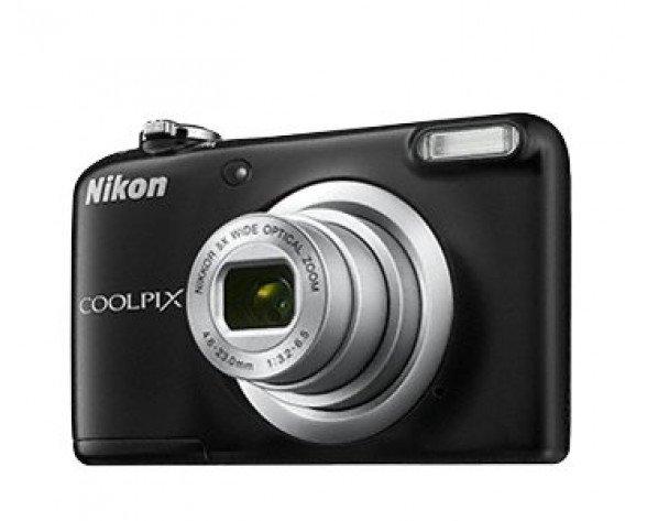 """Nikon COOLPIX A10 16.1MP 1/2.3"""" CCD 4608 x 3456Pixeles Negro"""