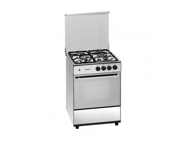 Meireles G 603 X Cocina independiente Encimera de gas A Acero inoxidable cocina