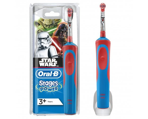 Oral-B Vitality Kids Star Wars CLS Niño Cepillo dental giratorio Multicolor