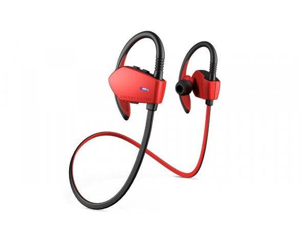Energy Sistem Energy Earphones Sport 1 Bluetooth Auriculares gancho de oreja Negro, Rojo