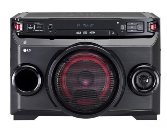 LG OM4560 Micro set 220W Negro sistema de audio para el hogar
