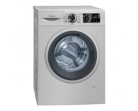 Balay 3TS986XA lavadora Independiente Carga frontal Acero inoxidable 8 kg 1200 RPM A+++