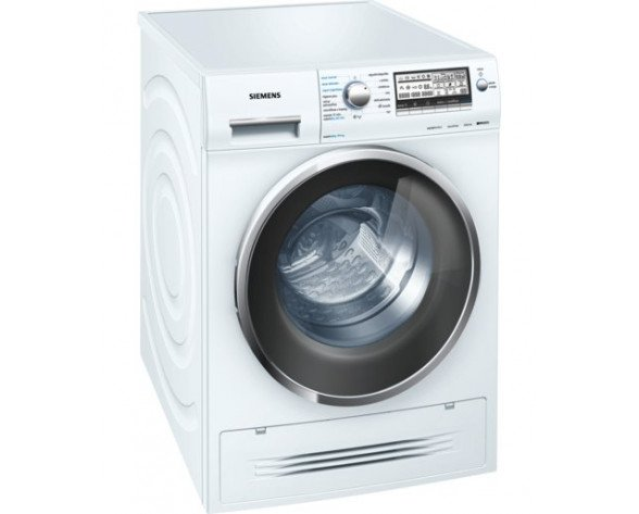 Siemens WD15H547EP lavadora Carga frontal Freestanding (placement) Blanco A