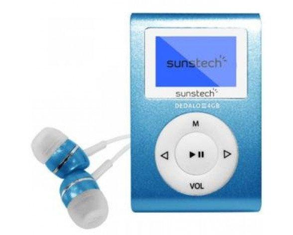 Sunstech DEDALOIII MP3 4GB Azul