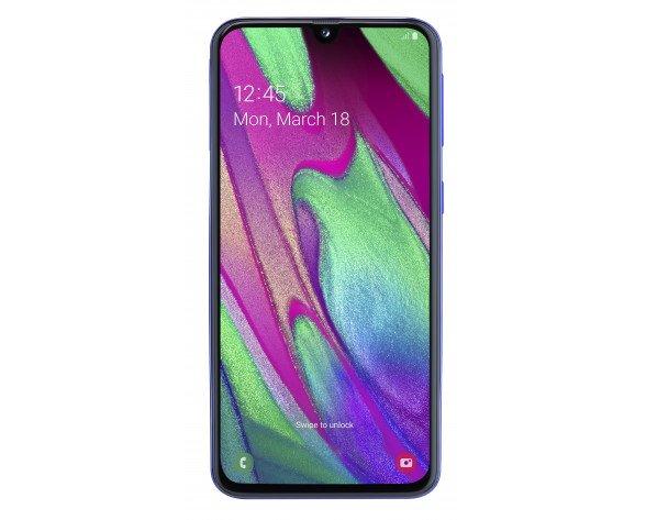 """Samsung Galaxy SM-A405F 15 cm (5.9"""") 4 GB 64 GB SIM doble 4G Azul 3100 mAh"""