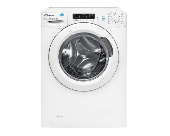 Candy CSW 485D-S lavadora Carga frontal Freestanding (placement) Blanco A