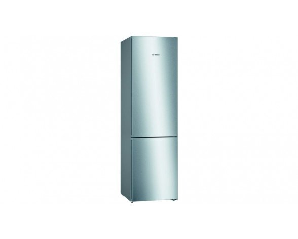 Bosch Serie 4 KGN39VIDA nevera y congelador Independiente 366 L Acero inoxidable