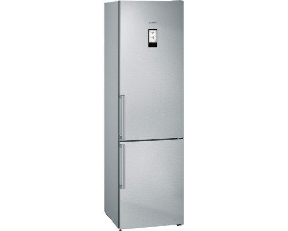 Siemens iQ500 KG39NAI3P nevera y congelador Independiente Acero inoxidable 366 L A++