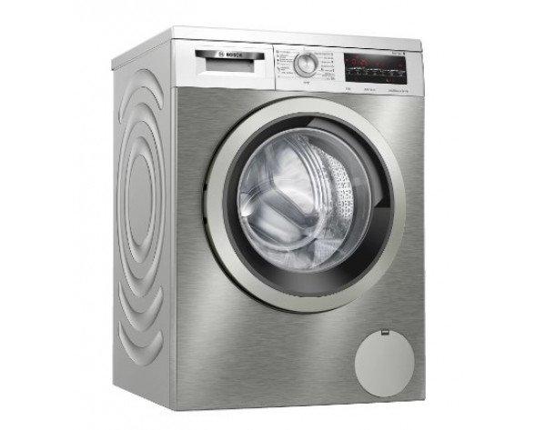 Bosch Serie 6 WUU28T6XES lavadora Independiente Carga frontal 8 kg 1400 RPM Acero inoxidable