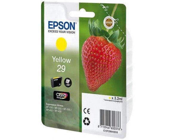 Epson 29 Y 3.2ml 180páginas Amarillo
