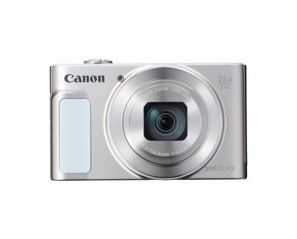 """Canon PowerShot SX620 HS Cámara compacta 20,2 MP CMOS 5184 x 3888 Pixeles 1/2.3"""" Blanco"""
