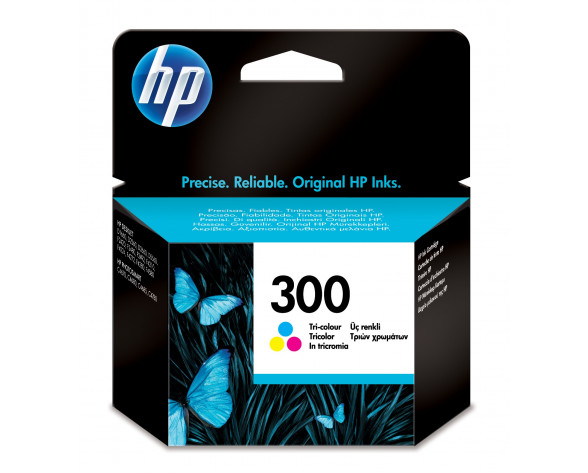 HP Cartucho de tinta original 300 Tri-color