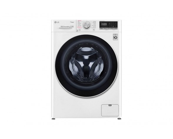 LG F4DN408S0 lavadora Carga frontal Independiente Blanco A