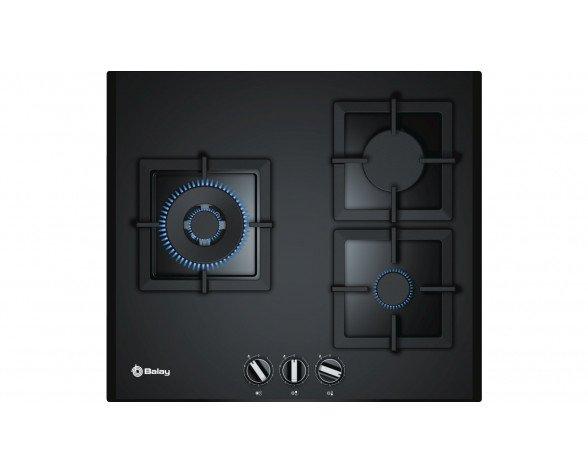 Balay 3ETG663HB hobs Negro Integrado Encimera de gas 3 zona(s)