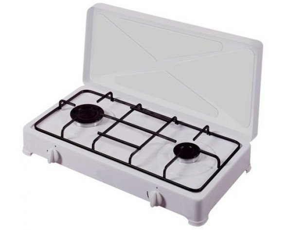 Vitrokitchen 200BB hobs Blanco Countertop (placement) Encimera de gas 2 zona(s)