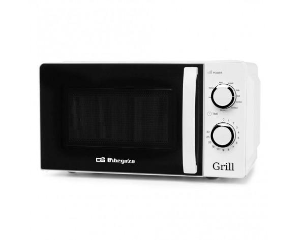 Orbegozo MIG 2130 microondas Encimera Microondas con grill 20 L 700 W Blanco