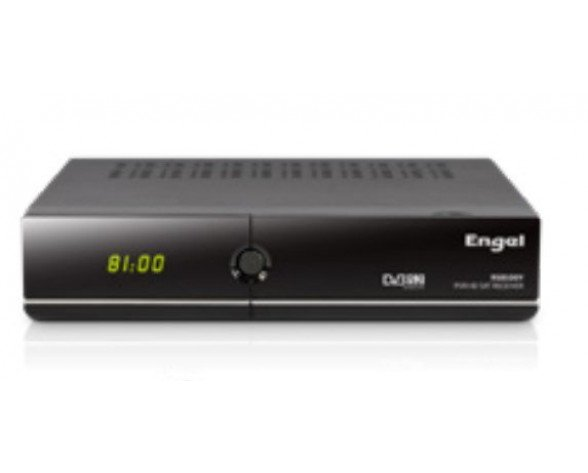 Engel RS8100Y descodificador para televisor IPTV, Satélite Full HD Negro