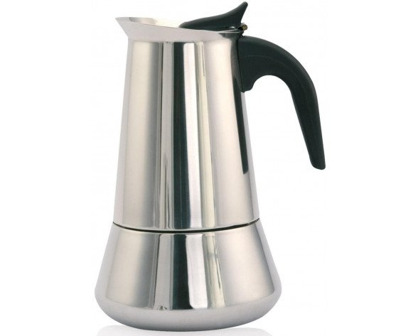 Orbegozo KFI 960 manual coffee maker Moka pot Negro, Acero inoxidable