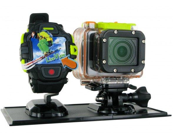 """HP AC 300W 16MP Full HD 1/2.5"""" CMOS Wifi cámara para deporte de acción"""