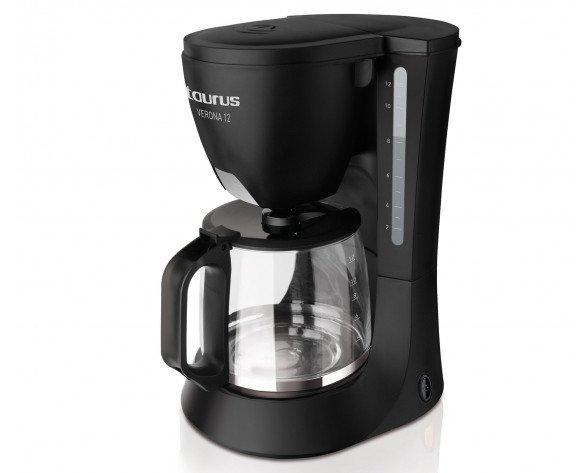 Taurus Verona 12 Cafetera de filtro 12tazas Negro