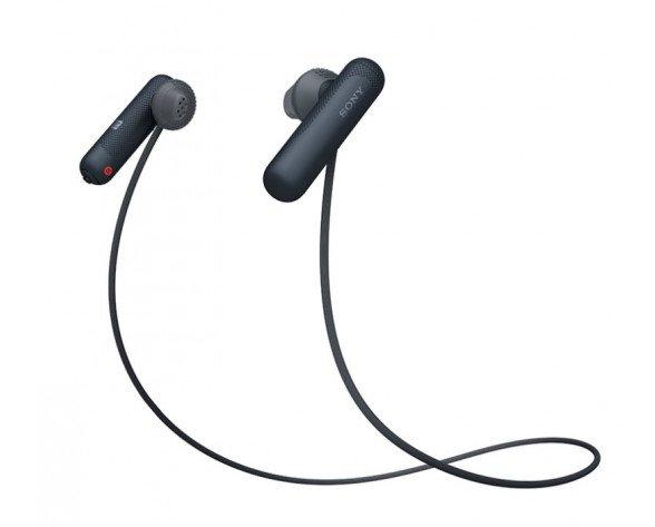 Sony WISP500B auricular y casco Auriculares Dentro de oído MicroUSB Bluetooth Negro