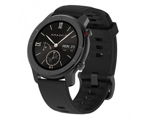 "Amazfit GTR 42 reloj inteligente AMOLED 3,05 cm (1.2"") Negro GPS (satélite)"