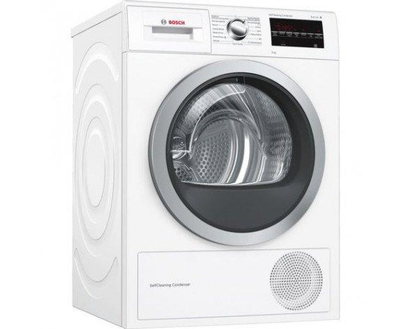 Bosch Serie 6 WTG87239EE secadora Independiente Carga frontal Blanco 9 kg A++