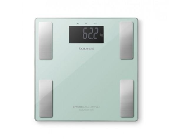 Taurus Syncro Glass Complet Plaza Verde Báscula personal electrónica