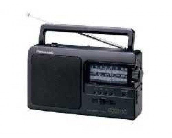 Panasonic RF-3500E9-K Portátil Analógica Negro radio