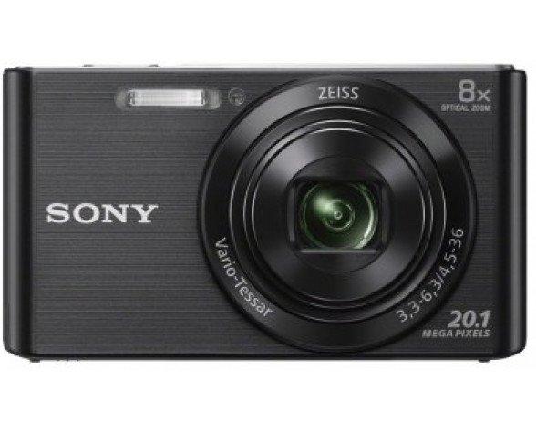 "Sony Cyber-shot DSC-W830 Cámara compacta 20,1 MP 1/2.3"" CCD 5152 x 3864 Pixeles Negro"