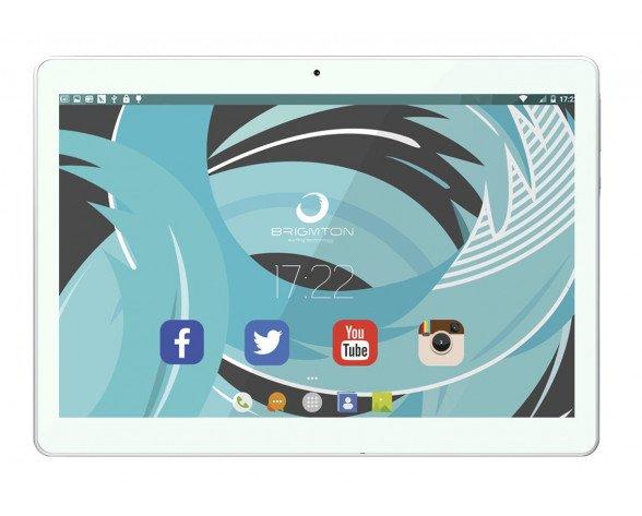 "Brigmton BTPC-1023OC4G-B tablet 25,4 cm (10"") Mediatek 2 GB 32 GB Wi-Fi 4 (802.11n) 4G LTE Blanco Android 6.0"