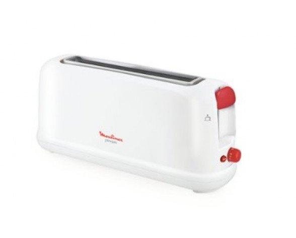 Moulinex LS160111 1rebanada(s) 1000W Rojo, Blanco tostadora