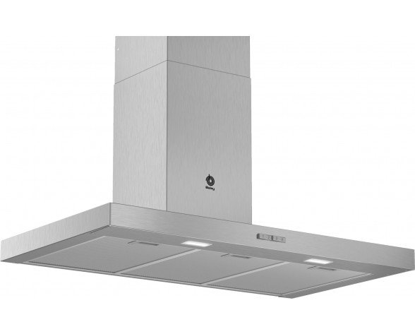 Balay 3BC096MX campana 590 m³/h De pared Acero inoxidable A