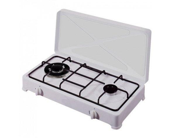 Vitrokitchen 250BB hobs Blanco Countertop (placement) Encimera de gas 2 zona(s)