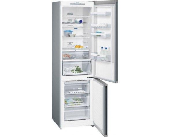 Siemens iQ300 KG39NVI45 nevera y congelador Independiente Metálico 366 L A+++