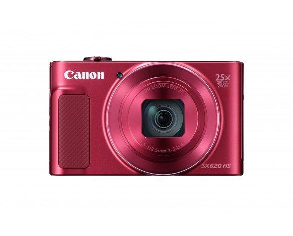 "Canon PowerShot SX620 HS Cámara compacta 20,2 MP CMOS 5184 x 3888 Pixeles 1/2.3"" Rojo"