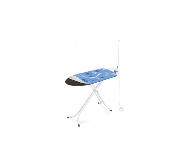 LEIFHEIT Air Board M Compact Plus Tabla de planchar de tamaño completo 1200 x 380 mm