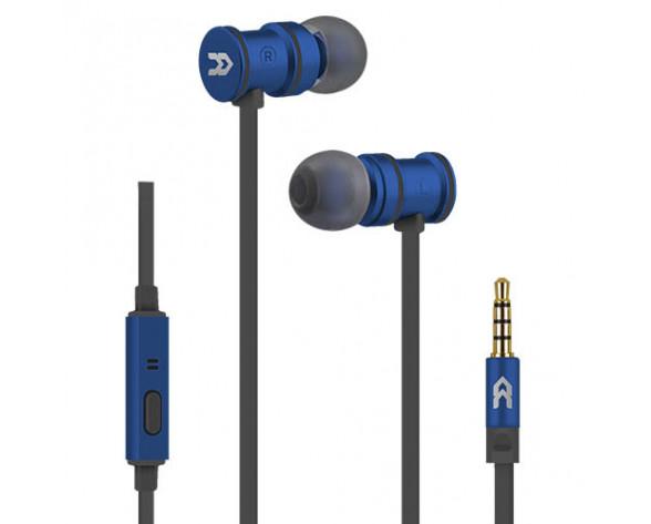 Avenzo AV636AZ auricular y casco Auriculares Dentro de oído Conector de 3,5 mm Negro, Azul