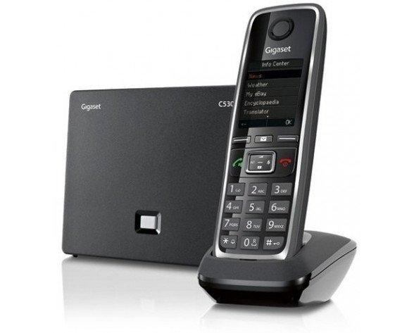 Gigaset C530 IP teléfono IP Negro