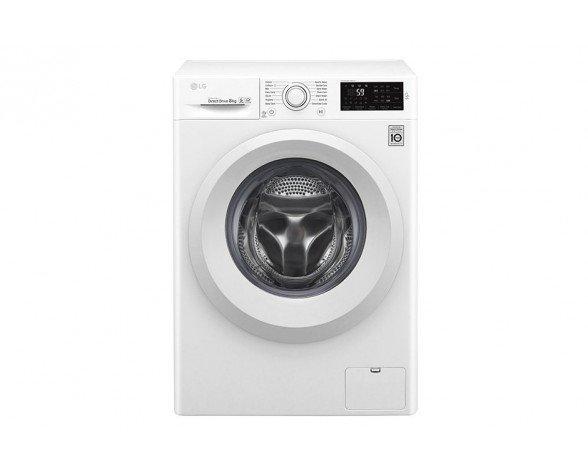 LG F2J5TN3W lavadora Independiente Carga frontal Blanco 8 kg 1200 RPM A+++