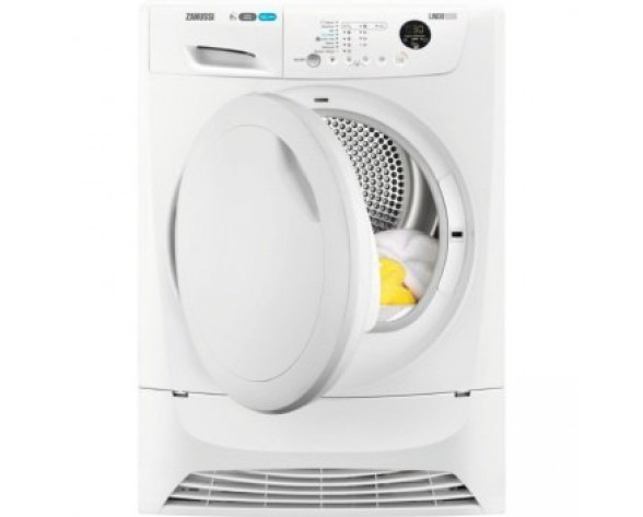 Zanussi ZDH8333PZ Independiente Carga frontal 8kg A+ Color blanco