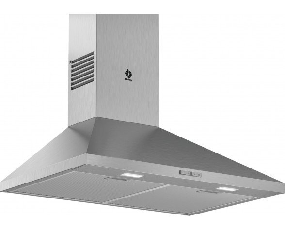 Balay 3BC676MX campana 600 m³/h De pared Acero inoxidable A