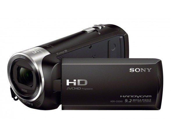 Sony Handycam® HDR-CX240E con sensor CMOS Exmor R®