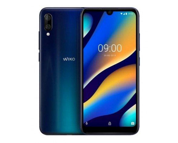 "Wiko View 3 Lite 15,5 cm (6.09"") 2 GB 32 GB SIM doble Negro, Azul 4000 mAh"