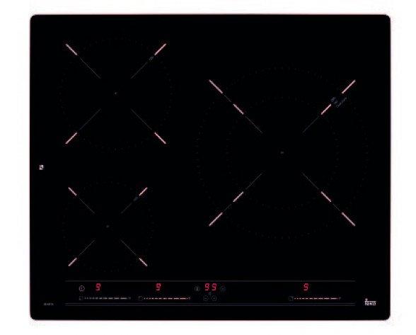 Teka IZ 6315 Negro Integrado Con placa de inducción 3 zona(s)